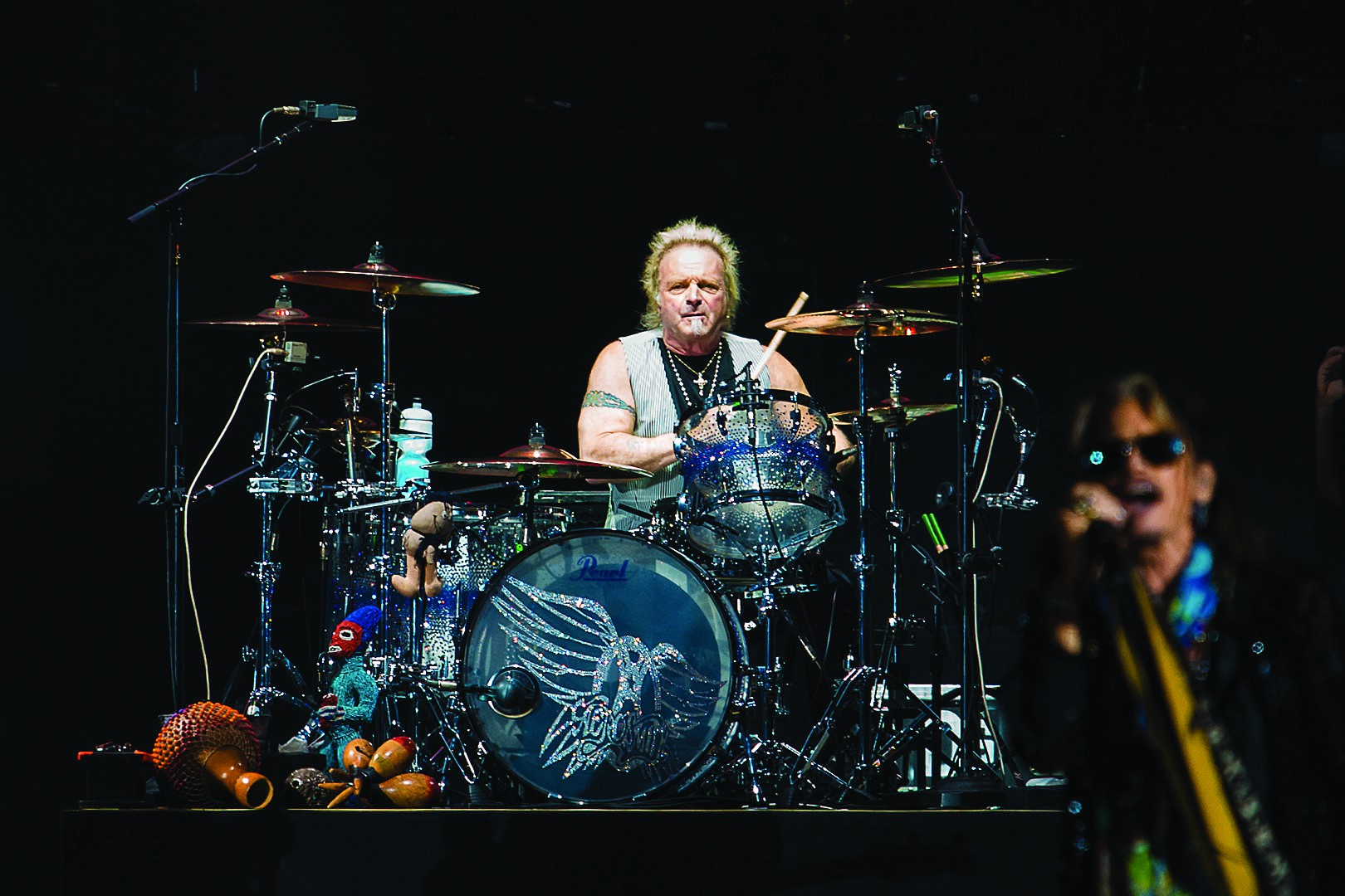 Bobnar Joey kramer se snemanja  albuma Night in the Ruts sploh ne spomni